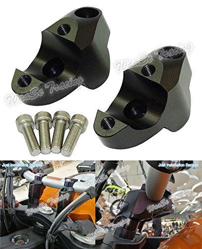 Motorcycle Handlebar Rise Up Bracket Kit For KTM 1050 1090 1190 1290 Adventure Black