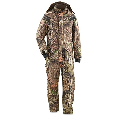 Insulated Hunting Coverall - Guide Gear Men's Guide Dry Hunt Coveralls, Waterproof, Insulated