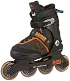 K2 Skate Boy's Raider Pro Pack Inline Skates, Black/Orange, 41737