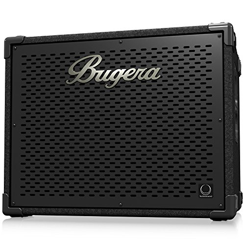 - BUGERA BT115TS Ultra-Compact and Lightweight 1,000-Watt Bass Cabinet with 1 X 15'' Turbosound Black