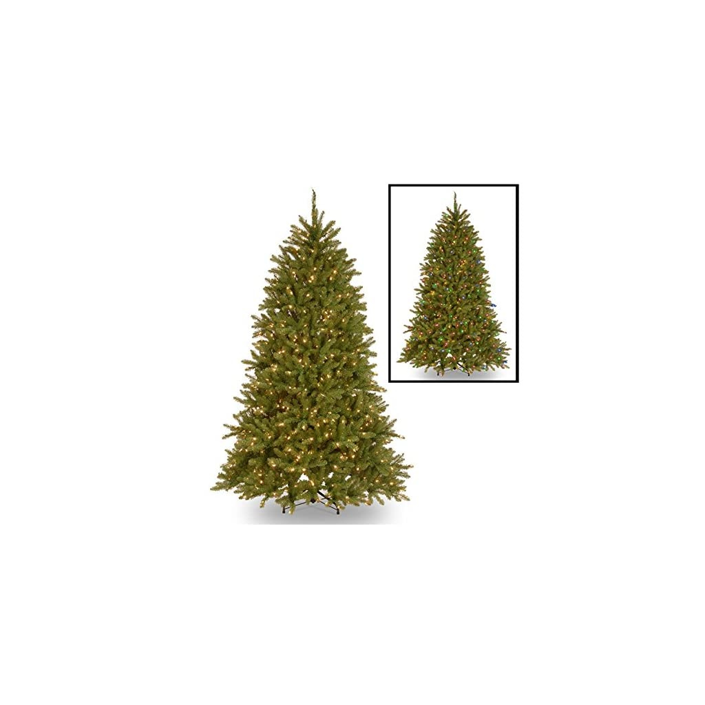 National-Tree-Company-4-12-Feet-Dunhill-Fir-Tree-with-450-Clear-Lights