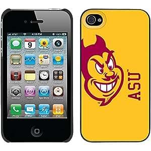iphone covers Arizona State - Mascot On Yellow design on Black iPhone 6 plus / 4 Thinshield Snap-On Case WANGJING JINDA