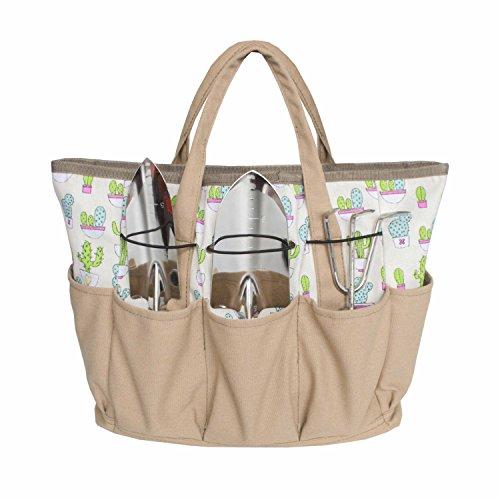 Bag Gardening (Outdoor Multi Pocket Gardening Tool Organizer Tote Bag Carrier (Cactus))