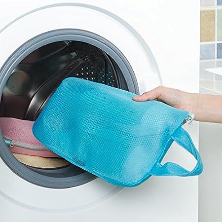 MEILIJIA - Bolsa de malla para lavar zapatos de lavadora, bolsa de ...