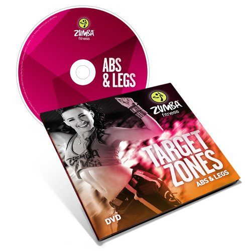Zumba Fitness Target Zones Abs and Legs DVD