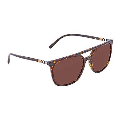 fd1028ef552 Amazon.com  Burberry Men s BE4257 Sunglasses Blue Havana Grey 57mm  Clothing