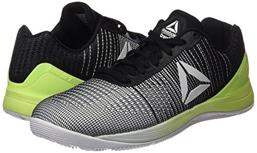 Nano lectrique Crossfit blanc Reebok 7 R Chaussures Flash Homme Noir Pour Multicolore D'entranement 1PxTxw