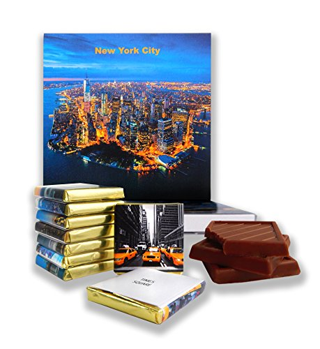 DA CHOCOLATE Candy Souvenir NEW YORK CITY Chocolate Gift Set 5x5in 1 box (New York Gift Box)