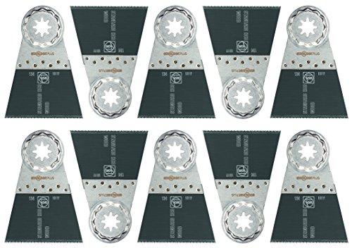 Fein 63502134290  Standard Oscillating Blade (10 Pack), 2-9/16 x 2