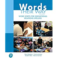 Words Their Way: Word Sorts for Derivational Relations Spellers