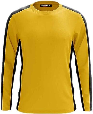 Bruce Lee Camisetas de Manga Larga Amarillas clásicas Mujeres y Hombres Kung Fu Wushu Jeet Kune Do Ropa clásica: Amazon.es: Ropa y accesorios