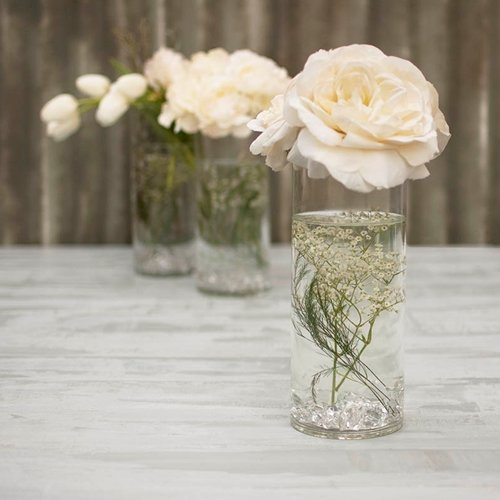Ohah Cylinder Flower Acrylic Vase Decorative Centerpiece Supply | 5