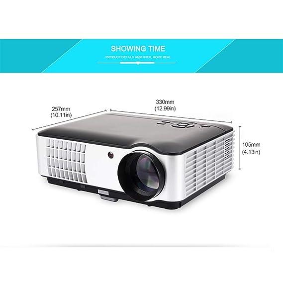 IG Proyector 3D de 2800 lúmenes: el proyector Full HD Led soporta ...