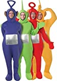 All 4 Mens Ladies Adult Teletubbies Teletubby Stag Fancy Dress Costumes Outfits (STD)