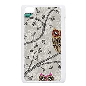 Spring Owls iPod Touch 4 Case White phone component RT_408606