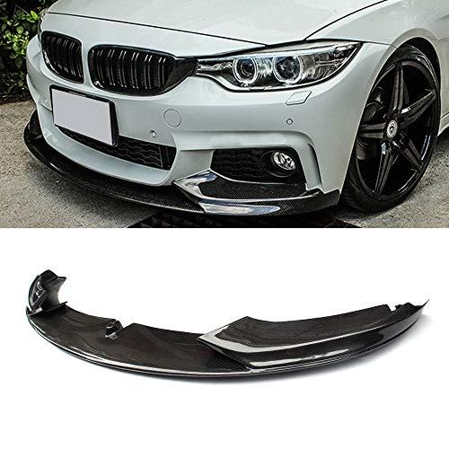 For 14-19 BMW F32 F33 F36 4 Series M Sport Bumper Carbon Fiber Front Lip Splitter