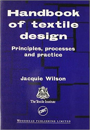 Processes Handbook of Textile Design Principles and Practice