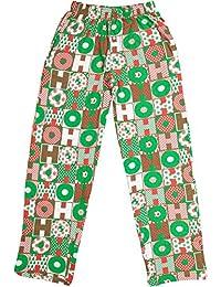 Lucky Ride Fun Boxers Men's Christmas Pajama Fun Prints & Lounge Pants