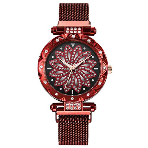 ❤SU&YU❤Watch,Women Watches Ladies Magnetic Clock Diamond Female Quartz Wristwatches (HT)