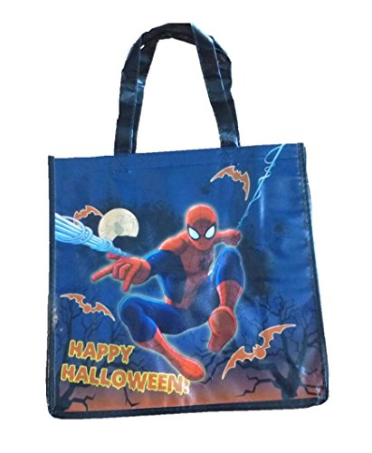 Marvel Boys Spider-man Happy Halloween Trick or Treat Loot Candy Bag]()