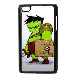 iPod 4 Black Cell Phone Case Hulk STY790444 Phone Case Active