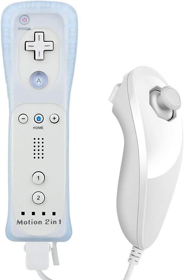 Hokyzam 2 en 1 para Wiimote AD01 Built in Motion Plus Control ...