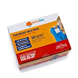 Sunny Bay Adhesive Body Heat Patches, White, Warm to 113 ºF, 29 Ounce