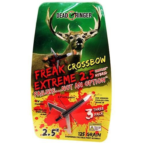 Dead Ringer Whitetail Freak Extreme 125Gr Crossbow Broadhead