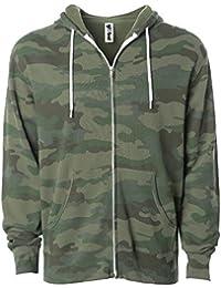 Global Slim Fit Lightweight Zip up Hoodie Men Women Hooded Sweatshirt b8d5254f4c