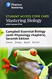 Mastering Biology with Pearson eText -- Standalone Access Card -- for Campbell Essential Biology (with Physiology chapters) (7th Edition)