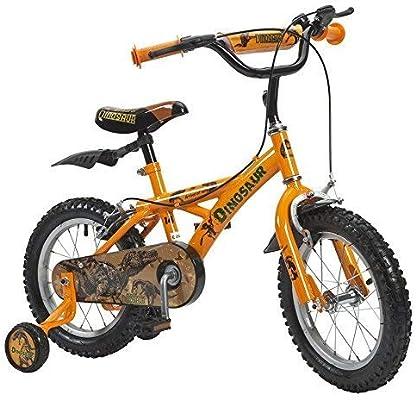 Bicicleta 14 pulgadas dinosaurio: Amazon.es: Deportes y aire libre