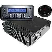 Bluetooth Enabled Remote Control SECRETAUDIO SST Hidden Stereo Radio and Bluetooth Interface iPod controler 200 watt amp Sub out USB