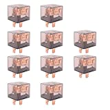 E Support Car Relay 12v 80a Spst 4pin Pack of 10