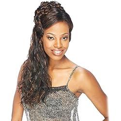 Human Hair Blend Weave Pose 5 Fuzzy Long 5Pcs (1)
