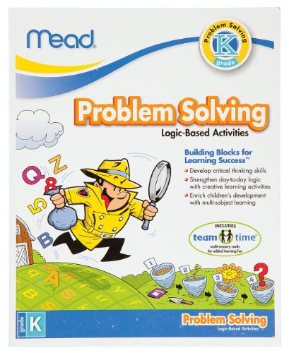 Mead Kindergarten Problem Solving Workbook, 10 x 8-Inches, 96 Pages (48026)