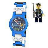 Lego Children's Special Police Watch–Black, White, Blue