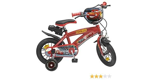 Toimsa – Bicicleta para niños bajo licencia Cars 3 12 pulgada (de 3 a 5 años, 742 , color/modelo surtido: Amazon.es: Juguetes y juegos