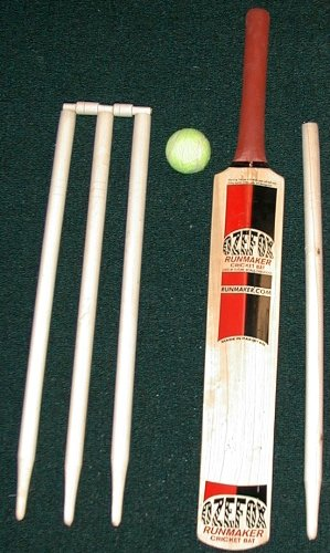 Ozefox Runmaker Cricket Bat Set - Size 4