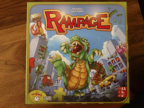 (Rampage Board Game by Brybelly)
