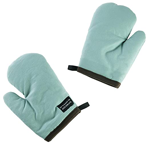Manoplas Horno Resistentes Al Calor Un par de guantes para hornear ...