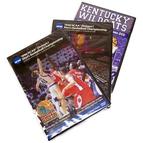 Kentucky Wildcats 1978, 1996 & 1998 Basketball National Championship 3-Pack (Full Games) (Basketball Kentucky 1978)