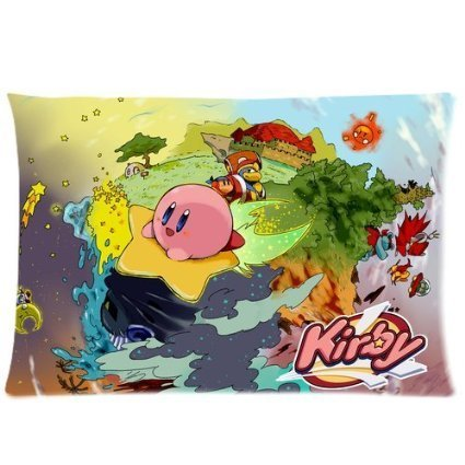 Hertanercase Kirby Image Custom Zippered Soft Pillow Cases 20x30 (Two sides) (Kirby Bed Set compare prices)
