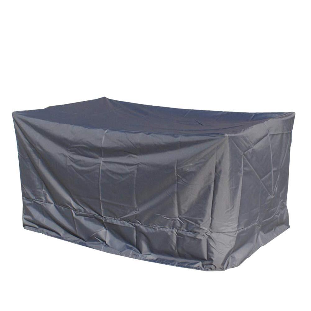 LIXIONG アウトドア 家具ダストカバー テーブルとチェア 防水 保護ケース 耐寒性 日焼け止め 洗濯機 ソファカバー デバイス (色 : Gray, サイズ さいず : 220x220x70cm) 220x220x70cm Gray B07JNVBF92