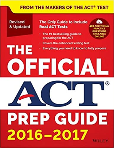 The official act prep guide 2016 2017 act 9781119225416 amazon the official act prep guide 2016 2017 1st edition fandeluxe Choice Image