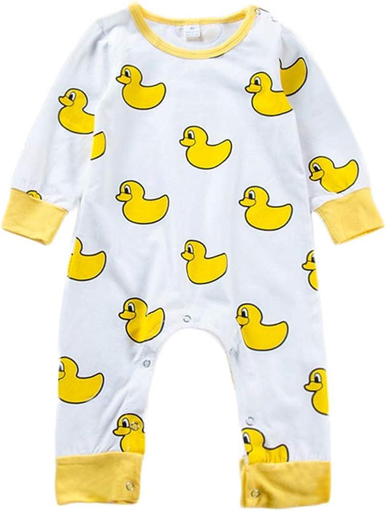 Duck Romper Jumpsuit Unisex Baby Bodysuits