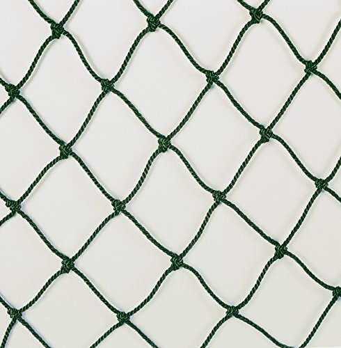 JUGS Batting Cage Nets - #42 Twisted Knotted Black Polyethylene