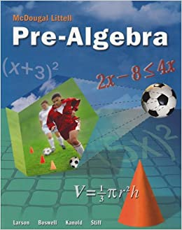 McDougal Littell Pre-Algebra: Student Edition 2005 Free Download