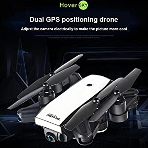 Rucan LH-X28GWF Dual GPS FPV Drone Quadcopter with 1080P HD Camera Wifi Headless Mode by Rucan