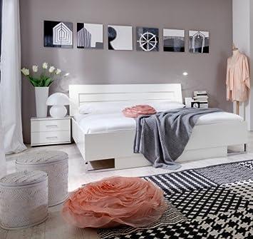 Wimex Schlafzimmer Set Davos, Liegefläche 160x200 cm, Weiß ...