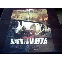 Original South American Movie Poster Diary Of The Dead Michelle Morgan George A. Romero